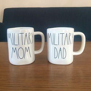 New Rae Dunn Mugs: Military Mom & Dad